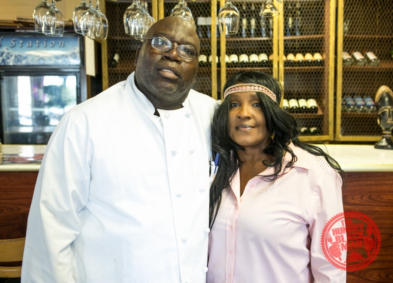Chef Eddie and his wife