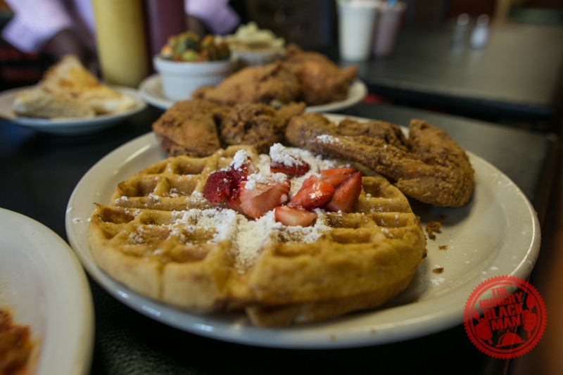 Chef Eddie's Chicken and Waffles
