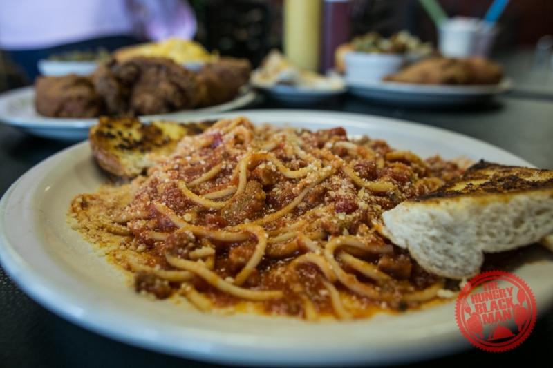 Chef Eddie's Spaghetti