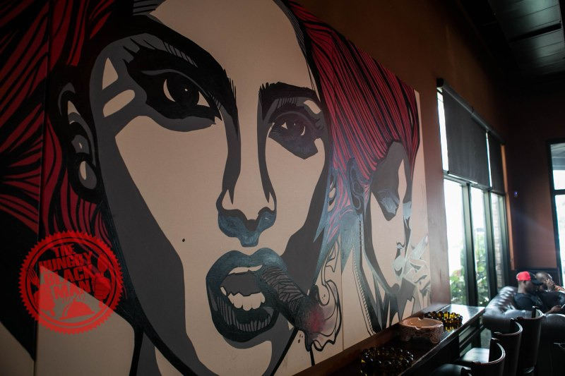 Cigar Lounge Painting 2