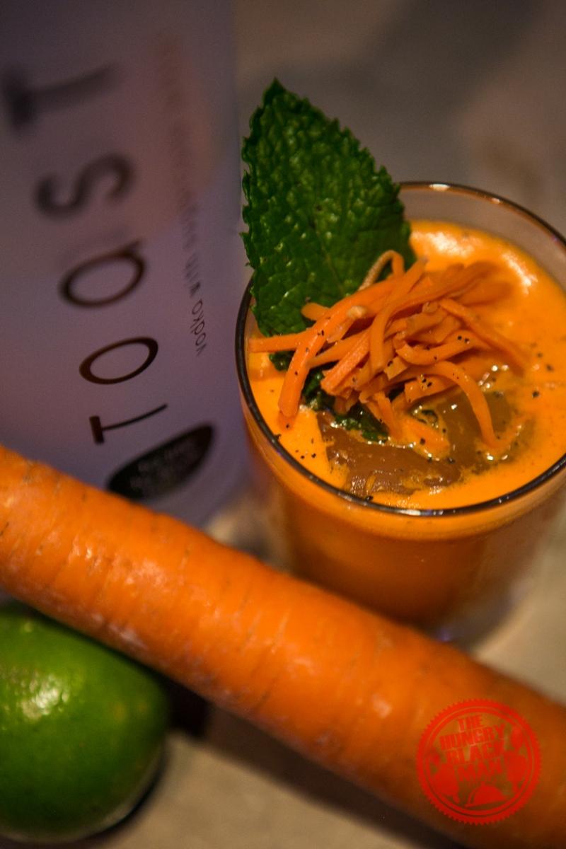 Toast Vodka Carrot