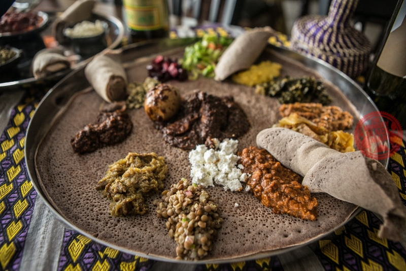 Ethiopian Combination Platter