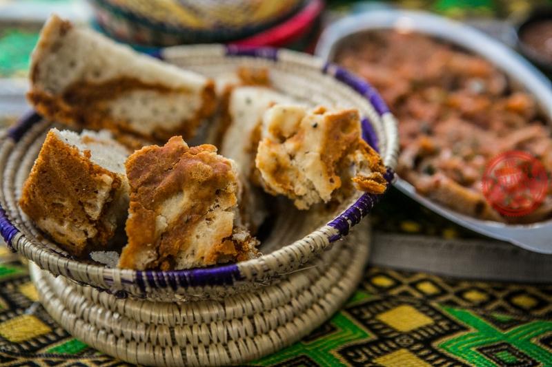 Ethiopian Garlic Bread