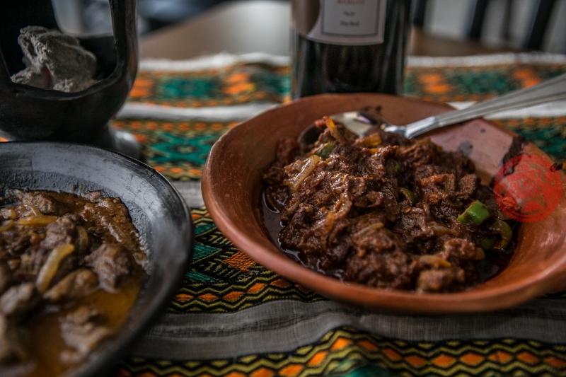 Ethiopian Raw Beef