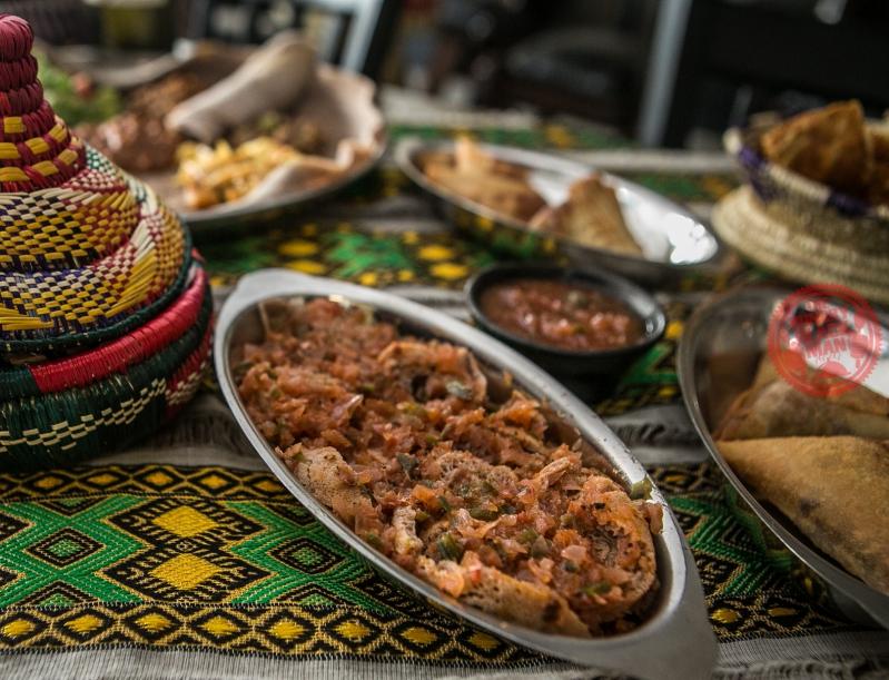 Ethiopian Tomato Bread