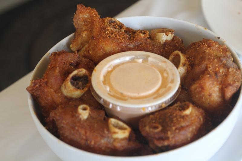 Fried Cajun Turkey Wings